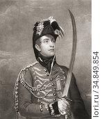 William II, Willem Frederik George Lodewijk van Oranje-Nassau, 1792... (2018 год). Редакционное фото, фотограф Classic Vision / age Fotostock / Фотобанк Лори