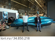 Gabriele Natale and Michele Tonizzo designers of Mambo (Motor Addictive... Редакционное фото, фотограф Massimo Lovati / AGF/Massimo Lovati / AGF / age Fotostock / Фотобанк Лори
