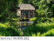 Schermbeck, Schermbeck-Altschermbeck, Niederrhein, Muensterland, ... Стоковое фото, фотограф Werner OTTO / age Fotostock / Фотобанк Лори