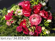 Natur, Pflanzen, Blumen, Blumenstrauss, Geburtstag, Geburtstagsstrauss... Стоковое фото, фотограф Werner OTTO / age Fotostock / Фотобанк Лори