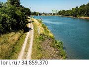 Huenxe, Lippe, Niederrhein, Muensterland, Ruhrgebiet, Naturpark Hohe... Стоковое фото, фотограф Werner OTTO / age Fotostock / Фотобанк Лори