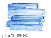 Light blue translucent brush strokes. Стоковая иллюстрация, иллюстратор Роман Сигаев / Фотобанк Лори