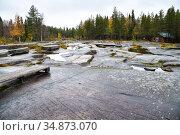 Zalavruga, Belomorsk, Karelia. White Sea petroglyphs archeological site (2020 год). Стоковое фото, фотограф Знаменский Олег / Фотобанк Лори