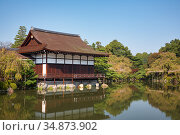 Shobikan (Guest House) of Heian-jingu Shrine. Kyoto. Japan (2007 год). Стоковое фото, фотограф Serg Zastavkin / Фотобанк Лори