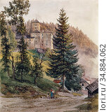 Hoger Joseph - Ansicht Von Schloss Waldenstein IM Oberen Lavanttal... Редакционное фото, фотограф Artepics / age Fotostock / Фотобанк Лори