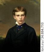 Raab Georg - Crown Prince Rudolf of Austria 16 Years Old - Austrian... Редакционное фото, фотограф Artepics / age Fotostock / Фотобанк Лори