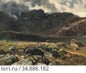 Steffan Johann Gottfried - Der Hintere Murgsee (St Galler Alpen) - ... (2020 год). Редакционное фото, фотограф Artepics / age Fotostock / Фотобанк Лори
