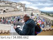 Flavio Lotti Coordinator ' Table for peace' pacifist association ,... Редакционное фото, фотограф Aleandro Biagianti / AGF/Aleandro Biagianti / AGF / age Fotostock / Фотобанк Лори