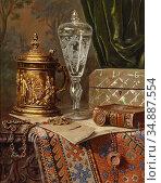 Czernotzky Ernst - Still Life with Antiques - Czech Republic and ... Редакционное фото, фотограф Artepics / age Fotostock / Фотобанк Лори