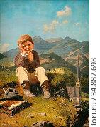 Ebert Anton - Der Kleine Schulschwänzer - Czech Republic and Slovakia... Редакционное фото, фотограф Artepics / age Fotostock / Фотобанк Лори