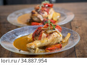 Chicken Leg , Edgewater, MD. Стоковое фото, фотограф Edwin Remsberg / age Fotostock / Фотобанк Лори