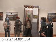 Люди на открытии выставки в ММОМА. Редакционное фото, фотограф Дмитрий Неумоин / Фотобанк Лори