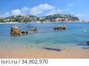 Landscapes in Sant Feliu de Guixols, Costa Brava Spain. Стоковое фото, фотограф Andrés Membrive Martínez / easy Fotostock / Фотобанк Лори