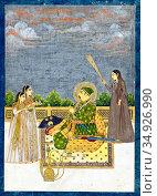 Nasir-ud-Din Muhammad Shah, Nasir-ud-Din Muhammad Shah Irkhwaz, Abu... (2016 год). Редакционное фото, фотограф Pictures From History / age Fotostock / Фотобанк Лори