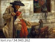 Spillar Jaroslav - Familie Aus Dem Chodenland - Czech Republic and... Редакционное фото, фотограф Artepics / age Fotostock / Фотобанк Лори