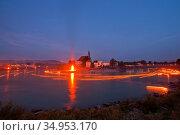 Summer solstice,midsummer,oberndorf. Стоковое фото, фотограф ROHA-Fotothek Frman / easy Fotostock / Фотобанк Лори