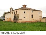 Tricio, Basilica of Santa Maria de Arcos (5th century). La Rioja, ... Стоковое фото, фотограф J M Barres / age Fotostock / Фотобанк Лори