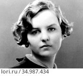 Jessica Lucy Freeman-Mitford (11 September 1917 – 22 July 1996) was... (2016 год). Редакционное фото, фотограф Pictures From History / age Fotostock / Фотобанк Лори