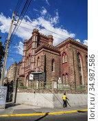 The Coke Memorial Methodist Church, Downtown, Kingston, Kingston ... Стоковое фото, фотограф Karol Kozlowski / age Fotostock / Фотобанк Лори