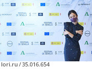 Actress Anna Castillo attends 'La vida era eso' Photocall during ... Редакционное фото, фотограф Manuel Cedron / age Fotostock / Фотобанк Лори