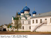 Epiphany Cathedral of the Epiphany Monastery in Uglich (2019 год). Стоковое фото, фотограф Юлия Бабкина / Фотобанк Лори