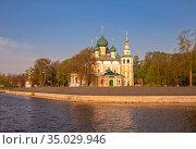 Transfiguration Cathedral in Uglich Kremlin (2019 год). Стоковое фото, фотограф Юлия Бабкина / Фотобанк Лори