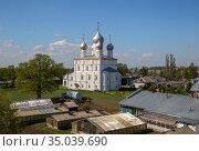 Spaso-Yakovlevsky Monastery. Church of the Transfiguration (2019 год). Стоковое фото, фотограф Юлия Бабкина / Фотобанк Лори