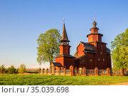 Церковь Иоанна Богослова на реке Ишня (2019 год). Стоковое фото, фотограф Юлия Бабкина / Фотобанк Лори