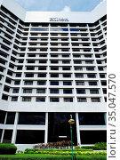 Hilton Kuching, Kuching, Sarawak, Malaysia. Стоковое фото, фотограф Chew Chun Hian / age Fotostock / Фотобанк Лори