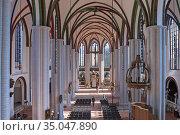 Inside interior view St Nicholas Church Nikolaikirche Mitte area ... Стоковое фото, фотограф Sergi Reboredo / age Fotostock / Фотобанк Лори