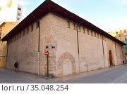 Valencia, Almudin or Almodi (gothic 14th century). Comunidad Valenciana... Стоковое фото, фотограф J M Barres / age Fotostock / Фотобанк Лори