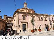 Valencia, Basilica de la Virgen de los Desamparados (renaissance ... Стоковое фото, фотограф J M Barres / age Fotostock / Фотобанк Лори