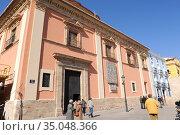 Valencia, Basilica de la Virgen de los Desamparados (renaissance ... (2012 год). Редакционное фото, фотограф J M Barres / age Fotostock / Фотобанк Лори
