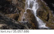 Shirlak waterfall in Altai. Стоковое видео, видеограф Jan Jack Russo Media / Фотобанк Лори