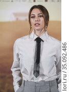 Blanca Suarez attends 'El verano que vivimos' Photocall at Four Seasons... Редакционное фото, фотограф Manuel Cedron / age Fotostock / Фотобанк Лори