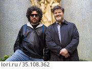 Mariano Cohn and Gaston Duprat poses for a photo session on October... (2016 год). Редакционное фото, фотограф Nacho López / age Fotostock / Фотобанк Лори