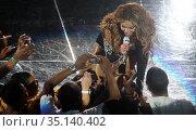 Beyonce 2009, Photo By John Barrett/PHOTOlink (2008 год). Редакционное фото, фотограф Adam Scull / age Fotostock / Фотобанк Лори