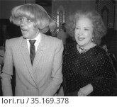 Carol Channing Ethel Merman 1980.Photo By Adam Scull/PHOTOlink.net.. Редакционное фото, фотограф Adam Scull / age Fotostock / Фотобанк Лори