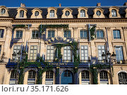 Place Vendome, Paris, France. Стоковое фото, фотограф Philippe Lissac / Godong / age Fotostock / Фотобанк Лори