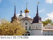 Tolgsky Convent in Yaroslavl (2019 год). Стоковое фото, фотограф Юлия Бабкина / Фотобанк Лори