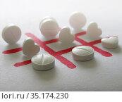 Эффективность медицинских препаратов. Стоковое фото, фотограф Татьяна Т / Фотобанк Лори
