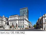 England, London, Westminster, St.James's, Regent Street, Waterloo... Стоковое фото, фотограф Steve Vidler / age Fotostock / Фотобанк Лори