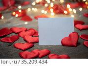 background for Valentine's Day. Стоковое фото, фотограф Типляшина Евгения / Фотобанк Лори
