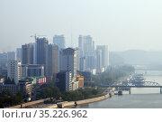 Pyongyang, capital of the North Korea. DPRK (2019 год). Стоковое фото, фотограф Знаменский Олег / Фотобанк Лори