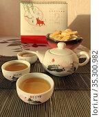 Китайская чайная церемония. Редакционное фото, фотограф Мария Кылосова / Фотобанк Лори