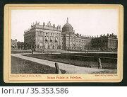 Europa, Deutschland, Brandenburg, Potsdam, Neues Palais , Verlag ... Редакционное фото, фотограф Historisches Auge Ralf Feltz / age Fotostock / Фотобанк Лори