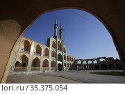 Amir Chakhmaq complex, Yazd, Iran. Стоковое фото, фотограф Massimo Pizzotti / age Fotostock / Фотобанк Лори