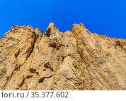 Patagonia landscape scene with big rocky mountains as main subject... Стоковое фото, фотограф Zoonar.com/Daniel Ferreira-Leites Ciccarino / easy Fotostock / Фотобанк Лори