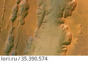 MARS Coprates Chasma -- 28 May 2004 --This image was taken by the... Редакционное фото, фотограф Jonathan William Mitchell / age Fotostock / Фотобанк Лори