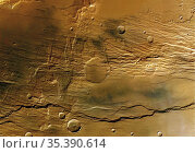 MARS Claritas Fossae -- 29 Jun 2004 -- The High Resolution Stereo... Редакционное фото, фотограф Jonathan William Mitchell / age Fotostock / Фотобанк Лори